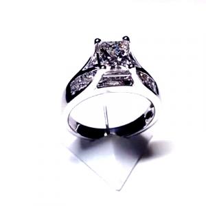 'Leyla' Diamond Engagement Ring - 1.66cts