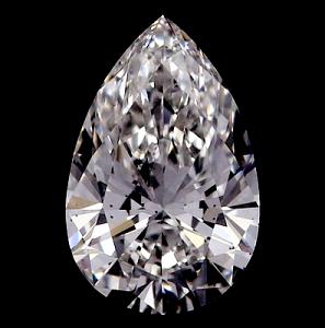 Pear Shape Diamond 0.72ct - D VS2