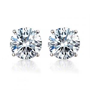 Diamond Stud Earrings - 0.58 carats total  I/J SI