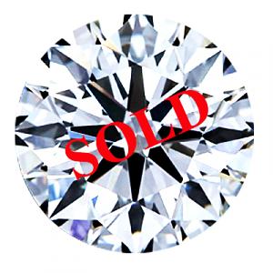 Round Brilliant Cut Diamond 0.60ct - D SI1