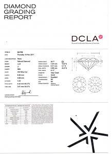 Round Diamond Pendant 1.17 carats - J VS1