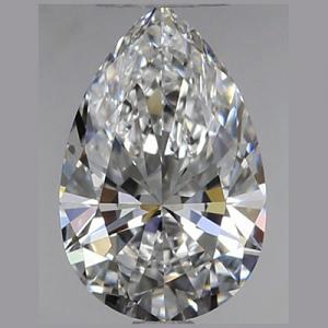 Pear Shape Diamond 0.52ct - D VVS1