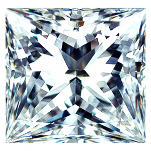 Princess Cut Diamond 1.00ct - D IF