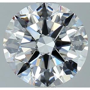 Round Brilliant Cut Diamond 1.85ct - D VS2