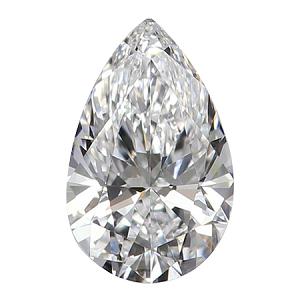 Pear Shape Diamond 0.71ct - D VVS1