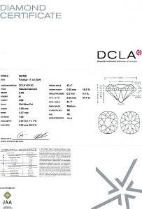 Old Mine Cut Diamond 0.55ct - H VS2