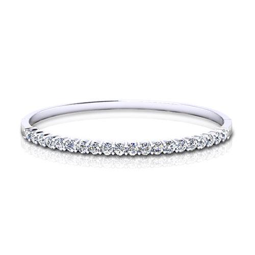 Diamond Bangle - 1.04 carats total