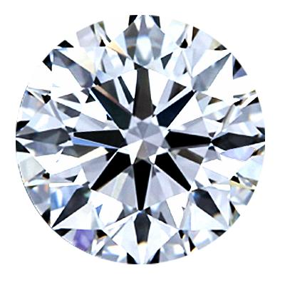 Round Brilliant Cut Diamond 0.71ct - G I2