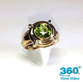 Peridot Dress Ring
