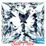 Princess Cut Diamond 1.15ct - G VVS2
