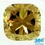 Cushion Cut Diamond 3.07ct - Fancy Yellow