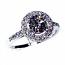 'Halo' Diamond Engagement Ring - 1.26cts
