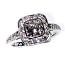 'Halo' Diamond Engagement Ring - 1.54cts