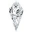 Kite Shape Diamond 0.34ct - G VS2