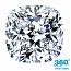 Cushion Cut Diamond 0.96ct - D SI1