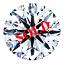 Round Brilliant Cut Diamond 0.35ct - D VS2