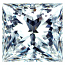 Princess Cut Diamond 0.19ct - M VS2