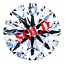Round Brilliant Cut Diamond 0.26ct - D VS2