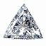 Trilliant Cut Diamond 0.32ct - E VS2