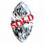 Marquise Cut Diamond 0.72ct - D VVS1