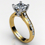 Princess Diamond Accent Ring