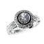 'Halo' Engagement Ring - Round Diamond