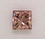 Pink Champagne Princess Cut Diamond 0.32ct - PC2 VS2