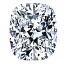 Cushion Cut Diamond 1.05ct - D IF