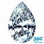 Pear Shape Diamond 1.27ct - M SI2
