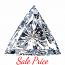 Trilliant Cut Diamond 0.74ct - M SI1