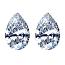 Pear Shape Diamond Pairs 0.21ct - G VS