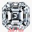 Asscher Cut Diamond 0.91ct - E VS1