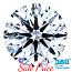 Round Brilliant Cut Diamond 1.03ct - F SI1