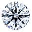 Round Brilliant Cut Diamond 0.90ct - D SI1