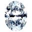 Oval Shape Diamond 0.50ct - D VVS1