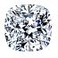 Cushion Cut Diamond 0.55ct - H SI1