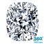 Cushion Cut Diamond 0.91ct - E VS1