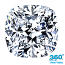Cushion Cut Diamond 1.01ct - D VVS1