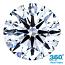Round Brilliant Cut Diamond 0.91ct - F VS2