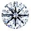 Round Brilliant Cut Diamond 0.37ct - E IF