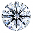 Round Brilliant Cut Diamond 0.25ct - D IF