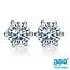 Diamond Stud Earrings - 0.29 carats total G VS