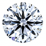 Round Brilliant Cut Diamond 1.18ct - F SI1