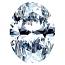 Oval Shape Diamond 0.50ct - F SI1