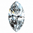 Marquise Cut Diamond 0.54ct - D VVS2