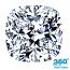 Cushion Cut Diamond 0.90ct - F SI1