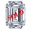 Emerald Cut Diamond 1.03ct - D VVS2
