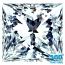 Princess Cut Diamond 1.28ct - H IF