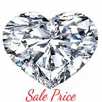 Heart Shape Diamond 0.73ct - E VS2