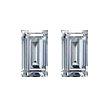 Baguette Diamond Pairs 0.59ct - F/G VS+
